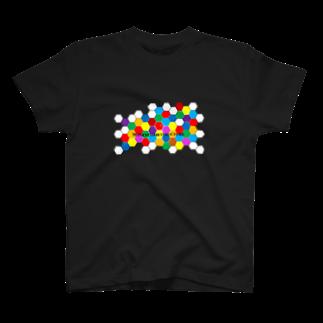 ζWalkerのハニカム T-shirts