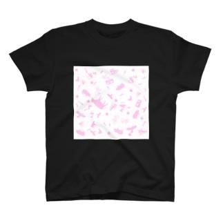ポップサイン動物台風 T-shirts