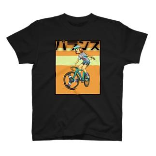 バランス (inked fixie girl) T-shirts