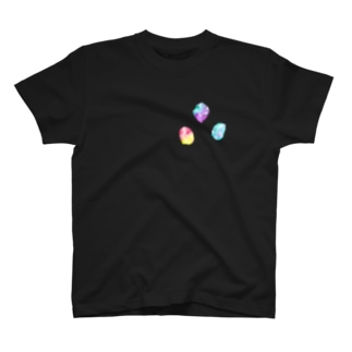 キラキラ鉱物 T-shirts