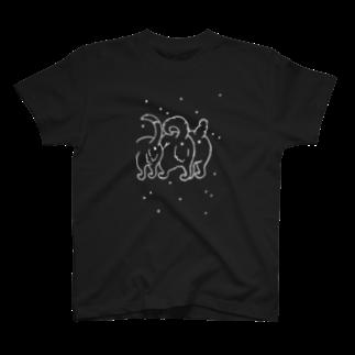 rarihoのいぬけつバッテン(ピリリッバージョン) Tシャツ
