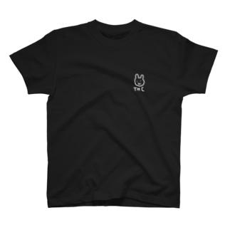 THCラビット Tシャツ(ロゴホワイトver) T-shirts