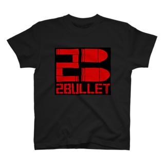 "2Bullet ""Red&Black"" T-shirts"