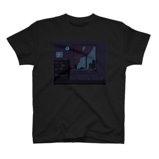 寝れない君 T-shirts