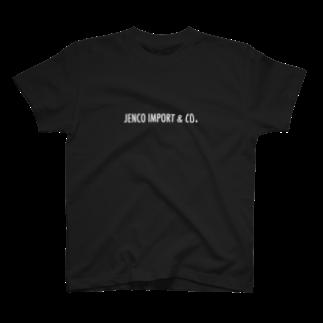 JENCO IMPORT & CO.のJENCO 2019SS_LOGO T-shirts