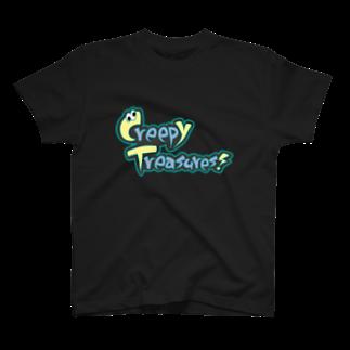 Creepy Treasures!のCreepy Treasures! Logo T-shirts