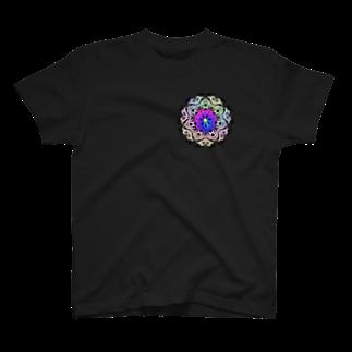 @chu_Dのカラフル ブーケ T-shirts