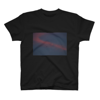 cozcozの夕焼け飛行機 T-shirts