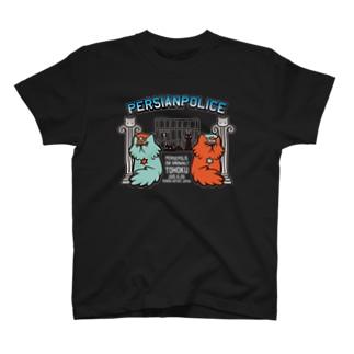 ぺるしゃんぽりす(濃い色用) T-shirts