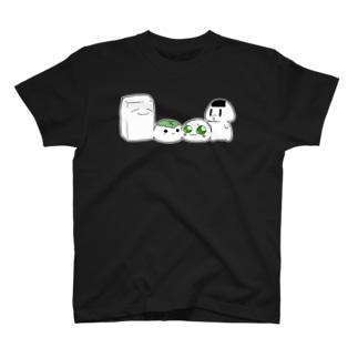 豆腐と餅とおにぎり T-shirts