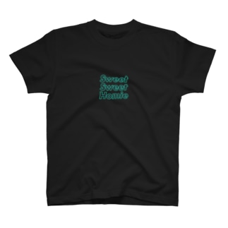 sweet sweet homieのネオン ロゴ T-shirts