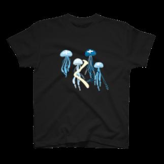 eria33のくらげのく T-shirts