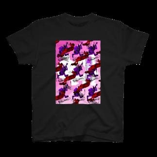 ONE PLUG DISordeRのONE PLUG DISordeR(cross OveR) T-shirts