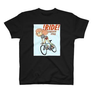 !RIDE! (CARTOON STYLE) T-Shirt