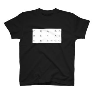 Jazz Blues in F T-shirts