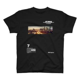 SAMULAI  Express 中侍道敦豪!! T-shirts