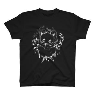 ドットリボンちゃんのぽたぽたB T-shirts