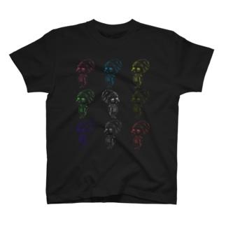 木池くんカラー9 T-shirts