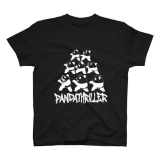 パンダスリラー(W) T-shirts