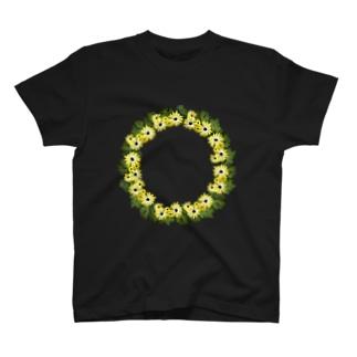 花輪 T-shirts