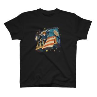 夜行漫遊バルコニー T-shirts