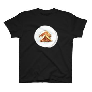 フレンチトースト 水彩 T-shirts