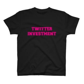 公式ロゴ(ピンク) T-shirts