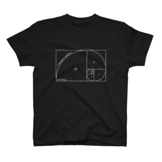 理系シリーズ2 フィボナッチ数 T-shirts