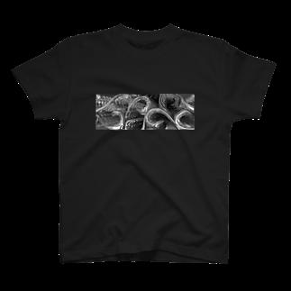 HzPowerの3Dモダン唐草ノート T-shirts