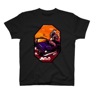 Muscle woman T-shirts