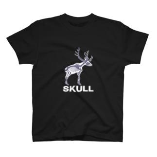 SUKLLシリーズ第2弾(白シカ) T-shirts