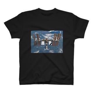 国際宇宙ステーション( ISS ) T-shirts