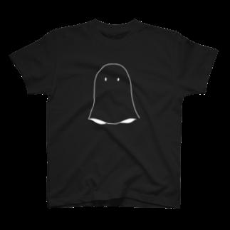 カネヒラ@空想アパートメントのしろおばけ T-shirts