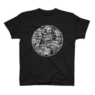 肥前狛犬『照白』Tシャツ T-shirts