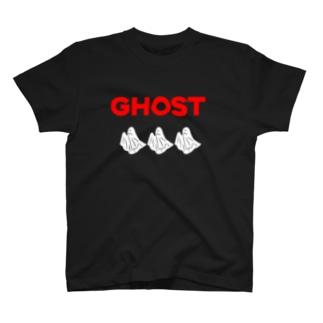 e_g_rのGHOST T-shirts