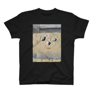 面白い顔 T-shirts
