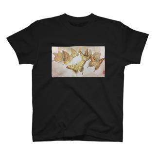 アゲハチョウ T-shirts