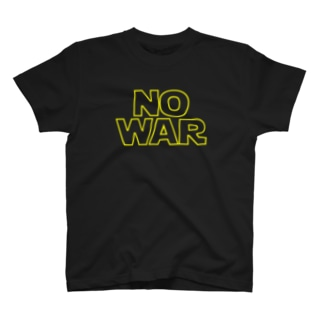 NO WAR T-shirts