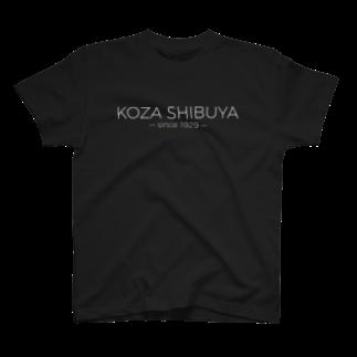 魔剤府市 公式アンテナショップのKOZA SHIBUYA Tシャツ(黒) T-shirts