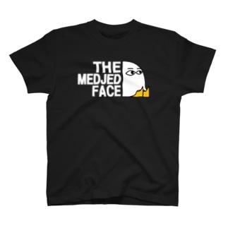 ザ・メジェドフェイス 座り 2019年秋冬モデル T-shirts