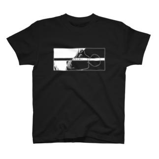 反抗少女-五月蝿イ-(white) T-shirts