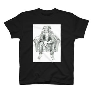 眠らない夜の羊 T-shirts