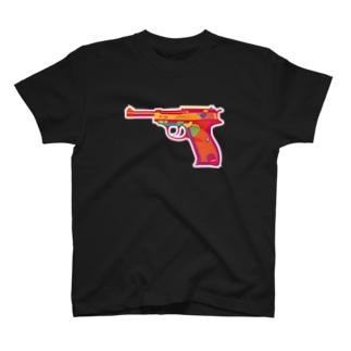 ワルサーP38 T-shirts