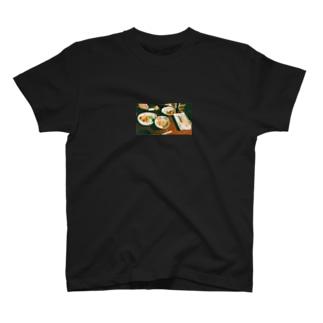 ここの飯がうめえんだ T-shirts
