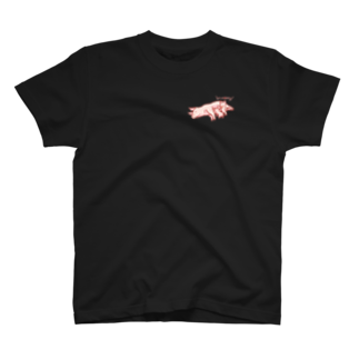 家畜とその他の豚社会のマナー T-shirts
