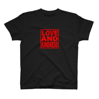 LOVE AND KINDNESS LED T-shirts