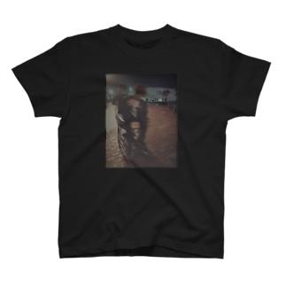 上原Tシャツ 黒 T-shirts