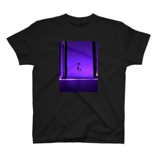 花のライトアップ T-shirts