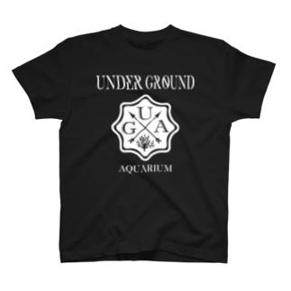 UGA ロゴ 【WHITE】 T-shirts