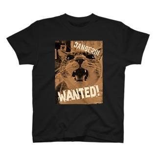 危険!猛獣WANTEDなシル子様 T-shirts